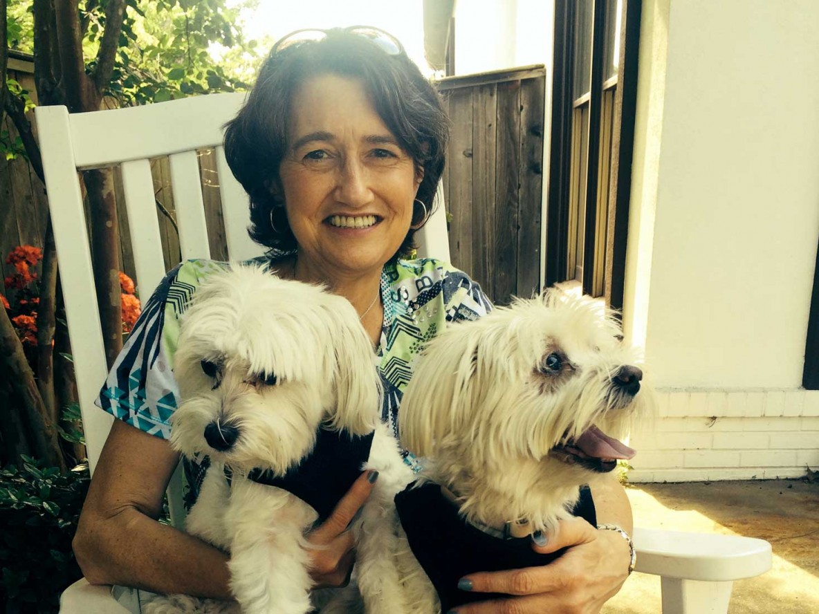 Mary Kathryn & dogs